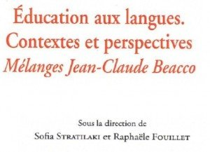 education aux langues